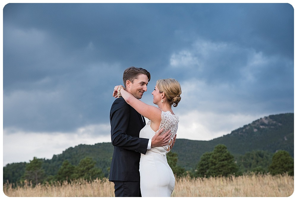 Colorado Mountain Wedding Photos at Elk Meadow