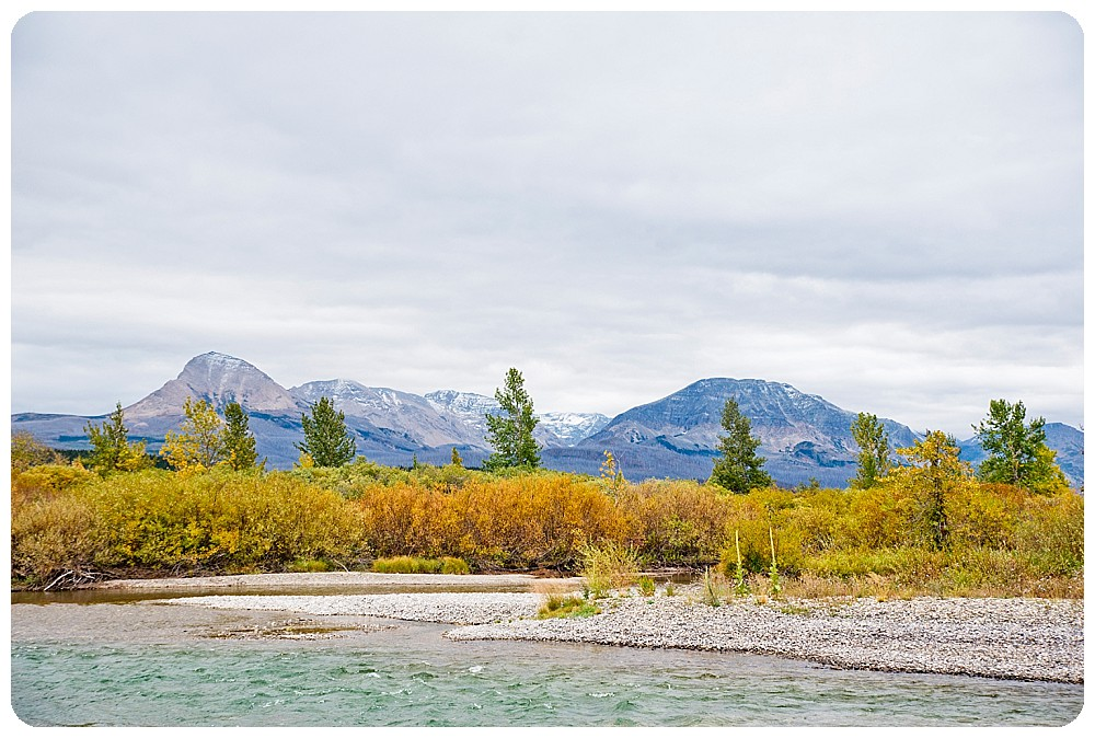 Destination Wedding Photographer at Mary's Lake in Glacier National Park