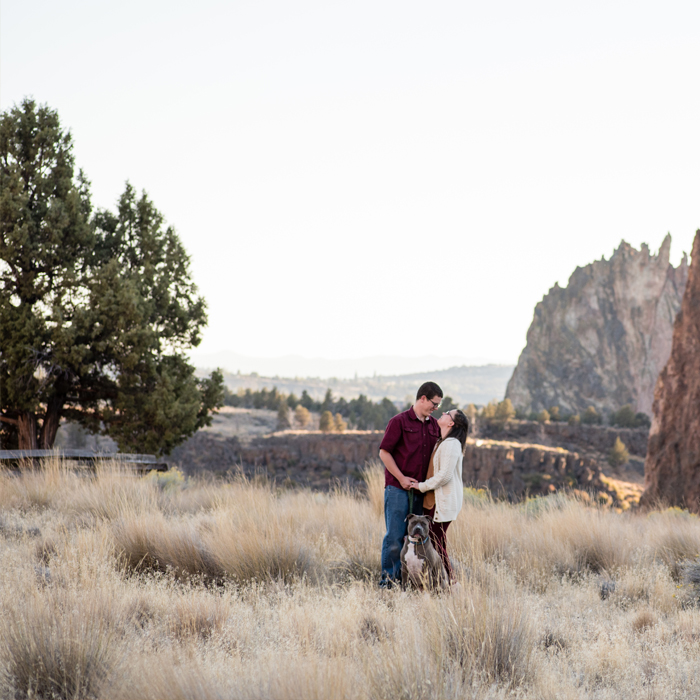 Smith Rock Couples Session by Oregon Wedding Photographer, Rayna McGinni
