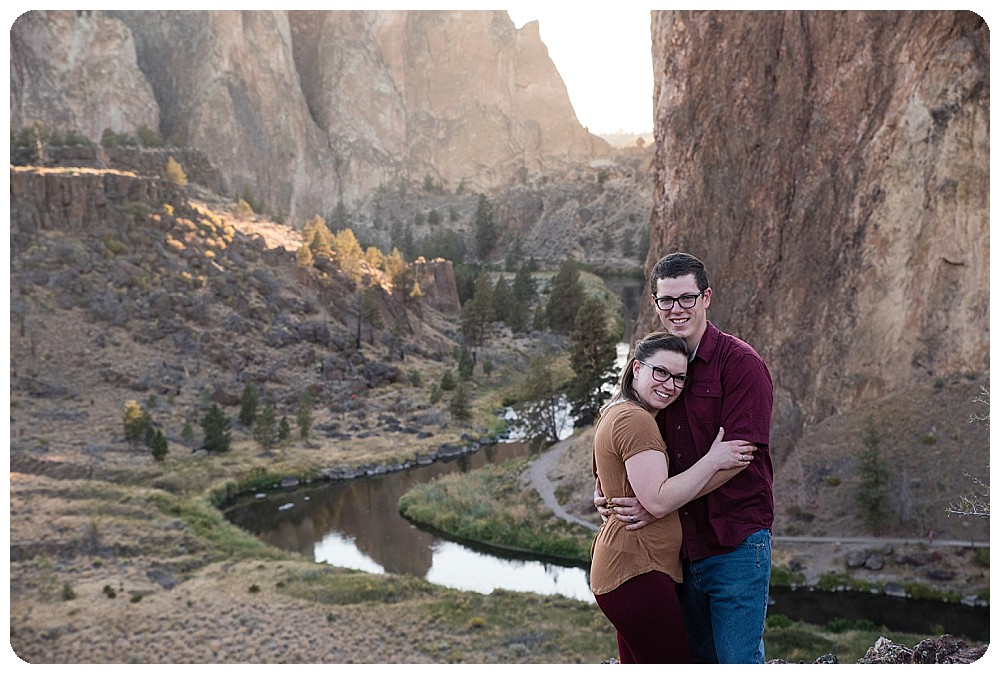 Smith Rock Couples Session