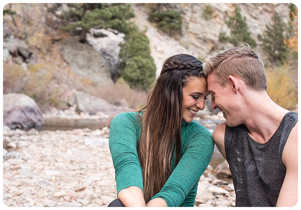 Couples Session at Eldorado Canyon State Park in Boulder