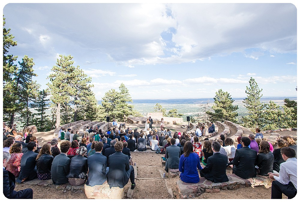 Sunrise Amphitheater Wedding in boulder