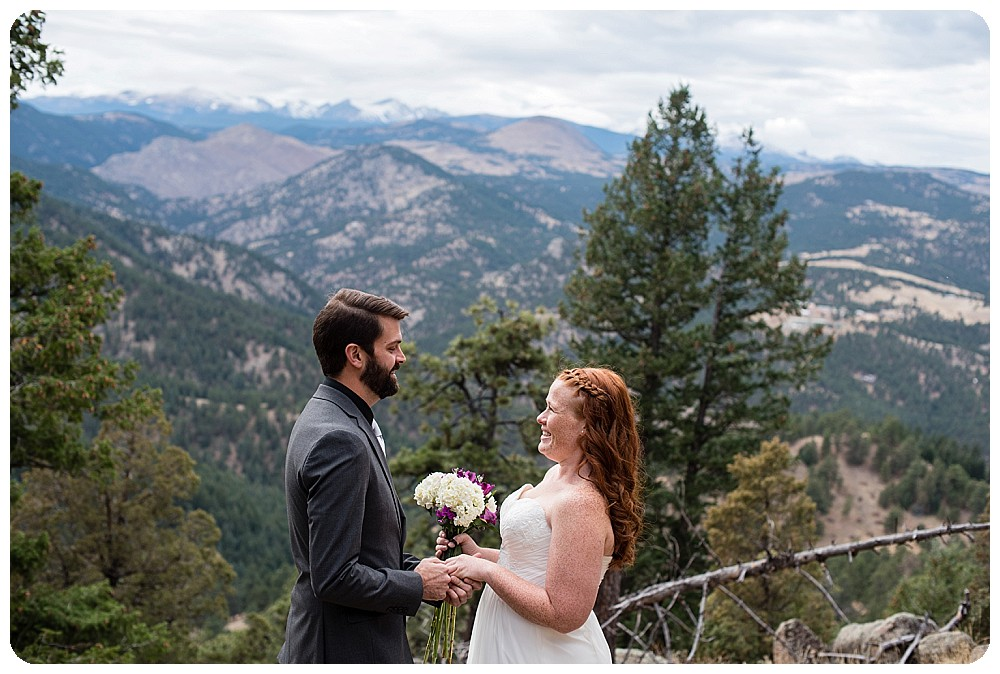 Elopement Vows by Boulder Elopement Photographer, Rayna McGinnis Photography