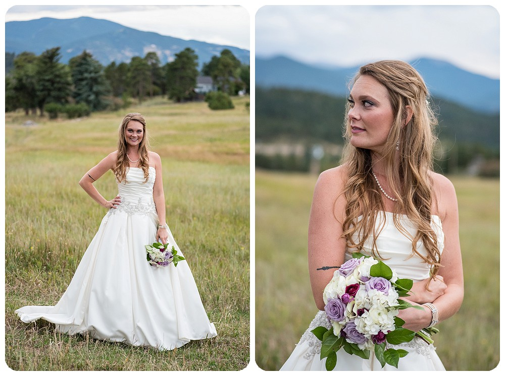 Mount Vernon Country Club Bridal Portraits