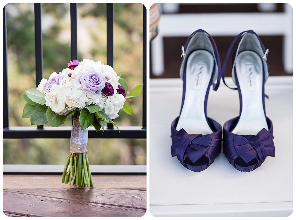 Mount Vernon Country Club Wedding Shoes