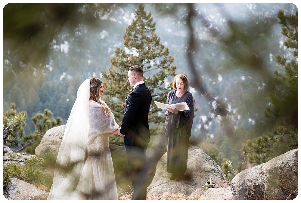 Colorado Winter Elopement in Boulder by Rayna McGinnis