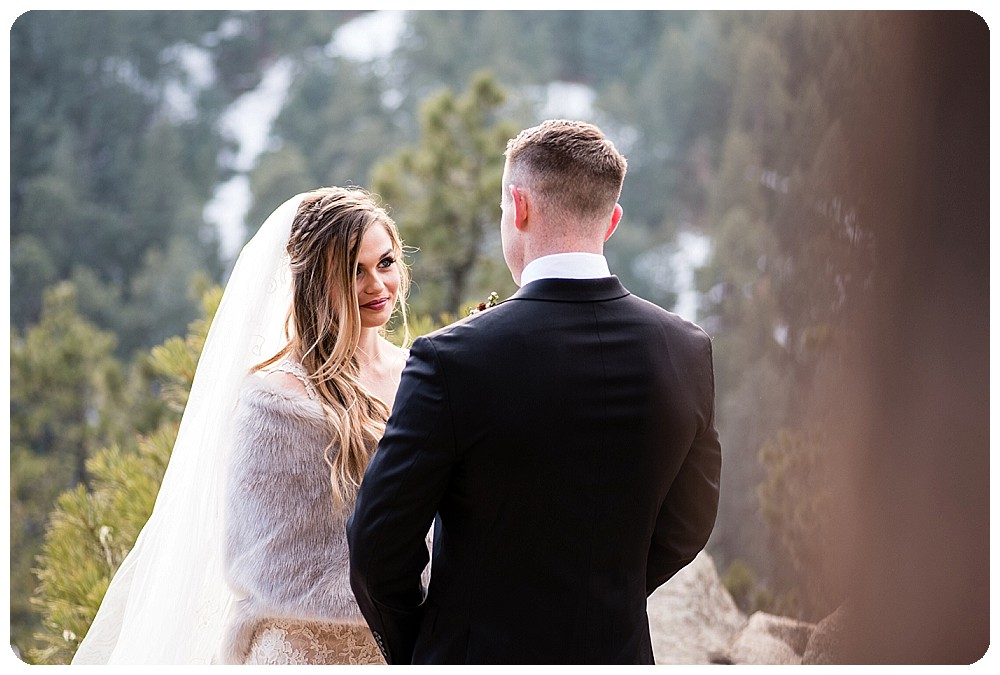Colorado Winter Elopement by Rayna McGinnis