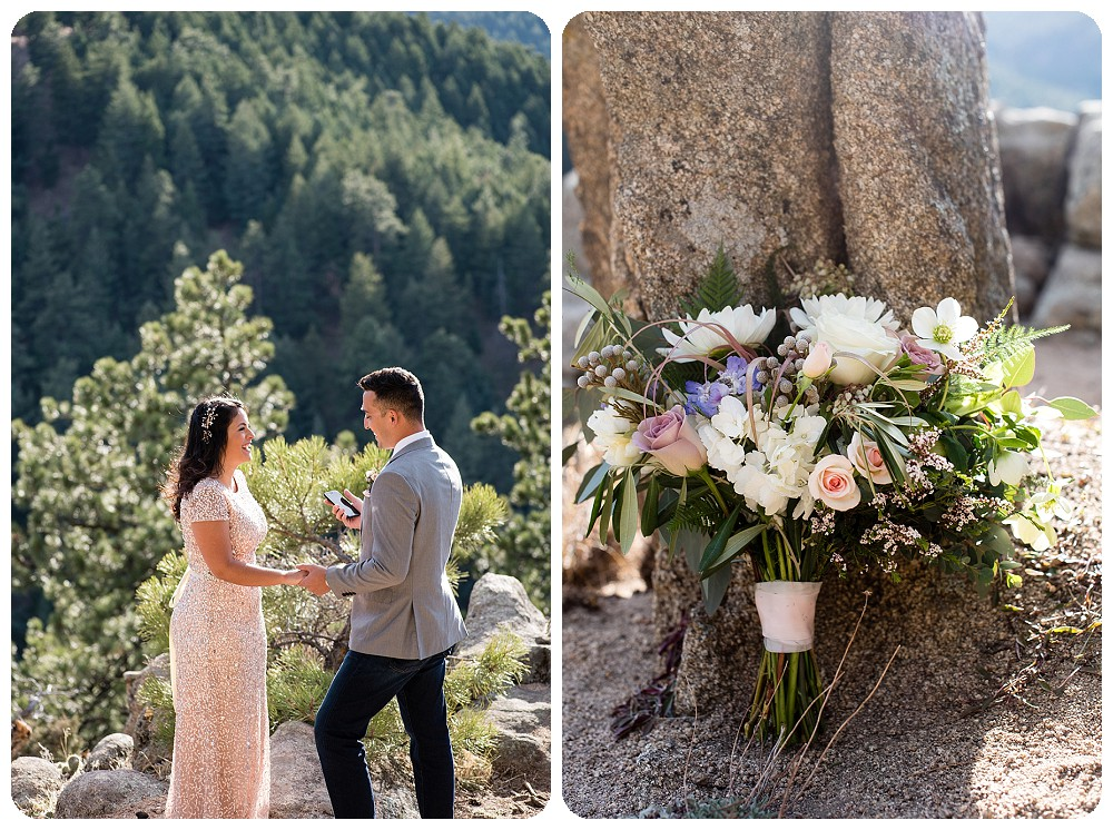 Destination Elopement Ceremony in Colorado