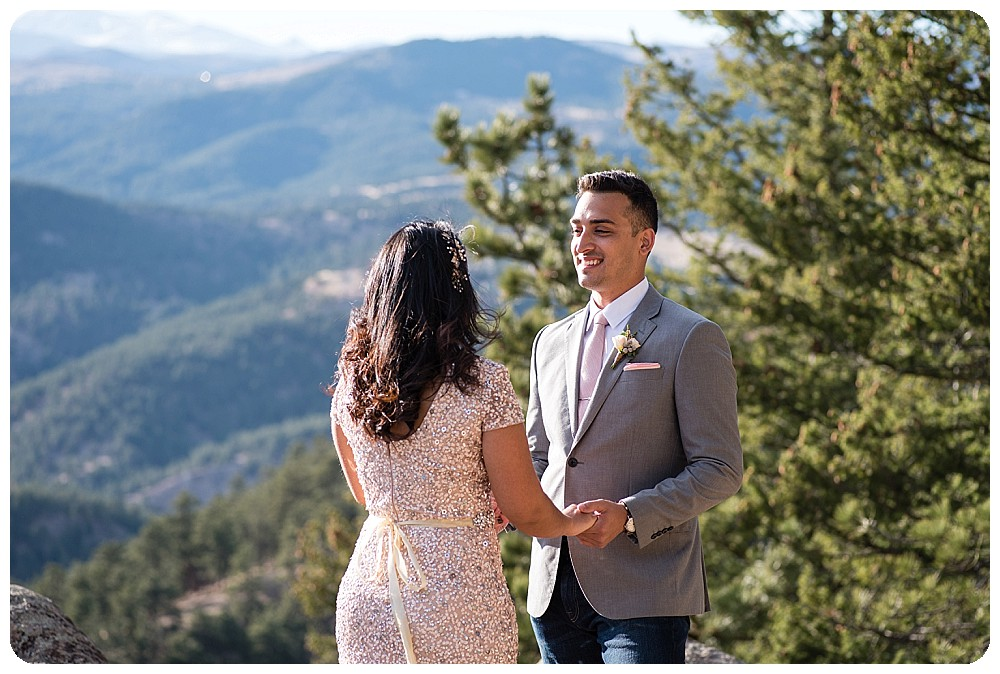 Destination Elopement in Colorado - Boulder