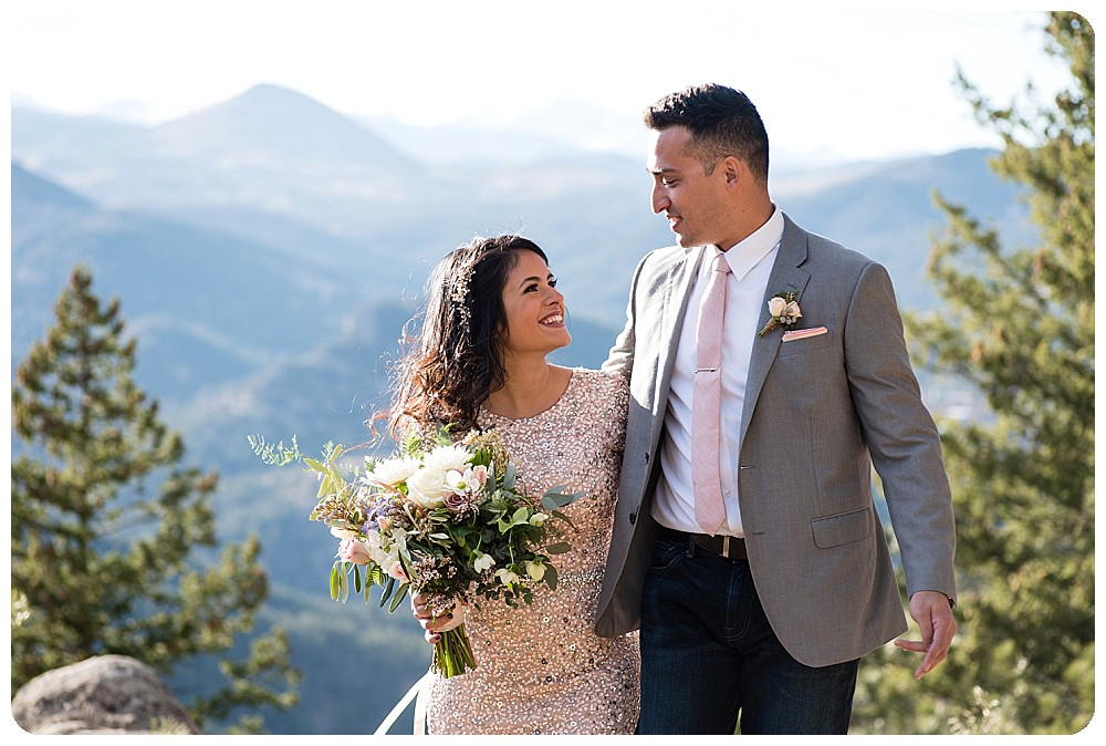 Destination Elopement in Boulder Colorado