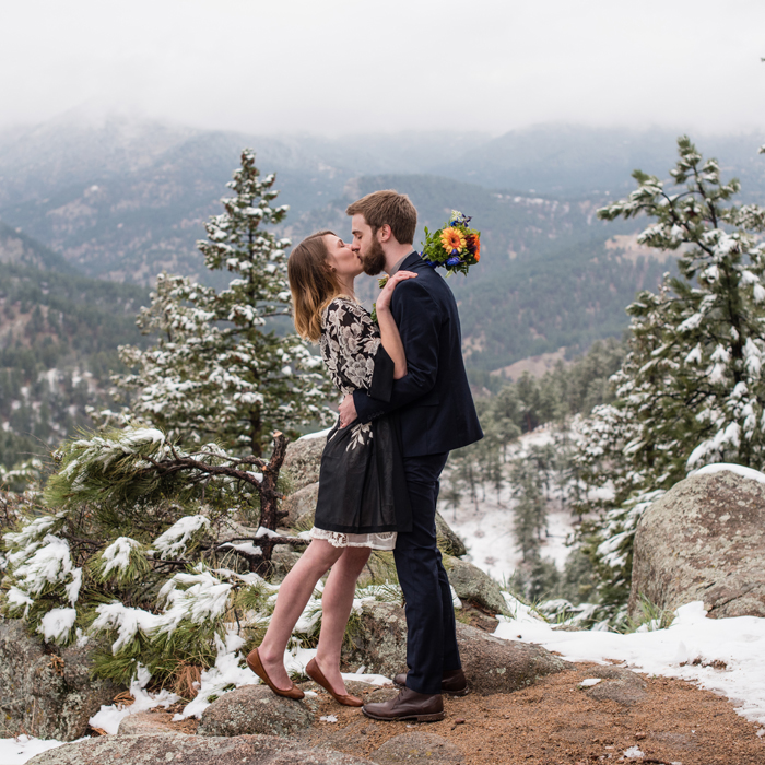 Colorado Elopement with Krystal and Alek