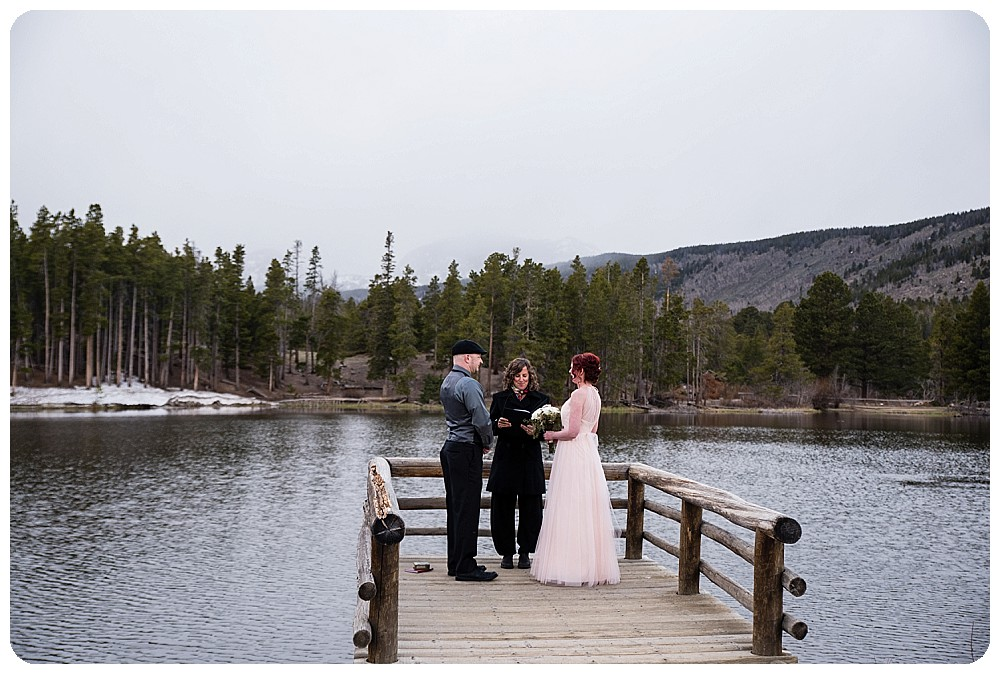 Elopement Ceremony in RMNP
