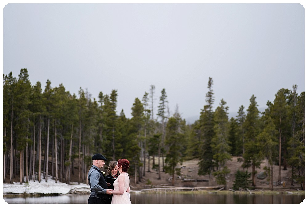 Sprague Lake Elopement at RMNP