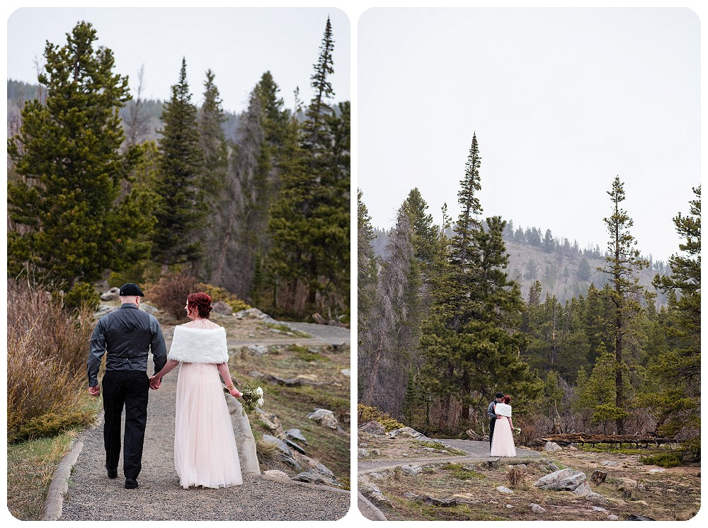 Mountain Wedding at Sprague Lake