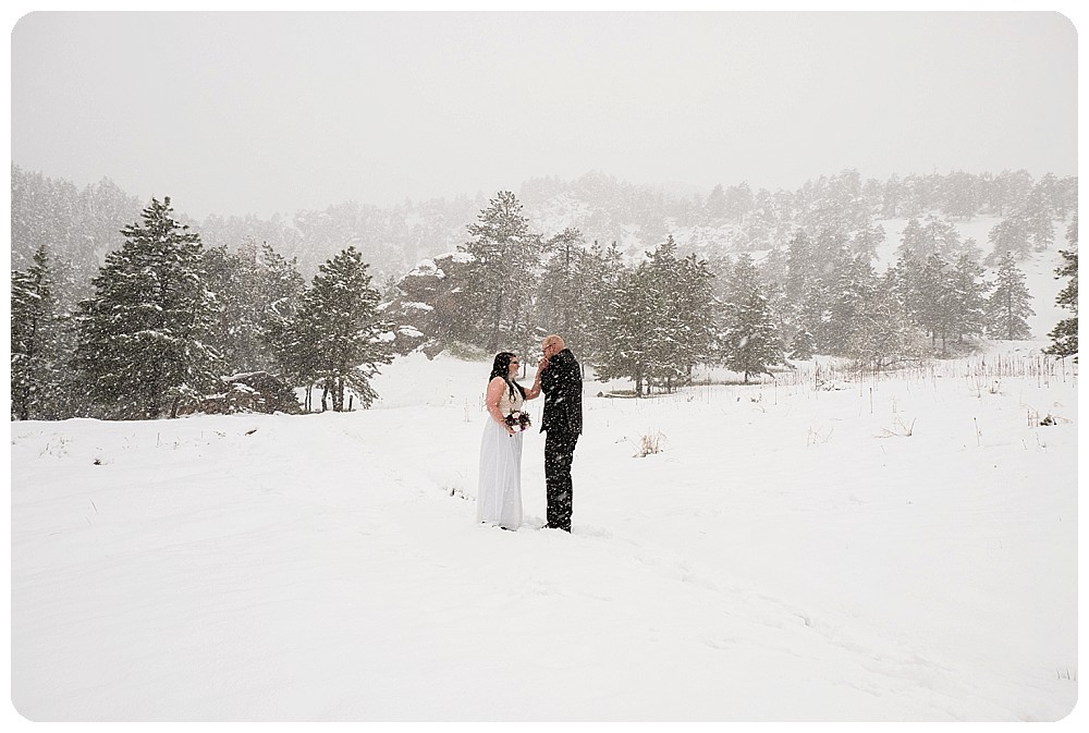 Boulder Elopement in May 2017