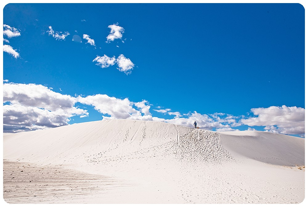 New Mexico Elopement at White Sands National Monument