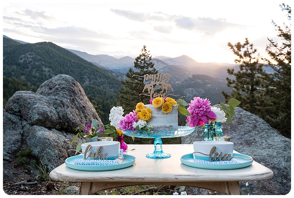 Cake Table by Prive Designs
