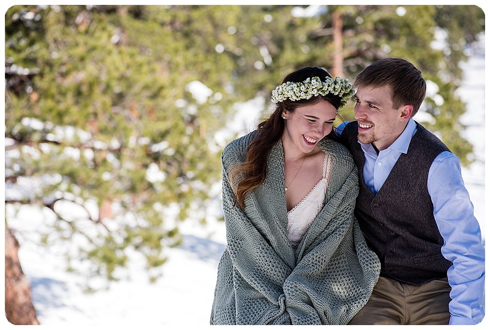 Mountain Elopement at Rocky Mountain National Park