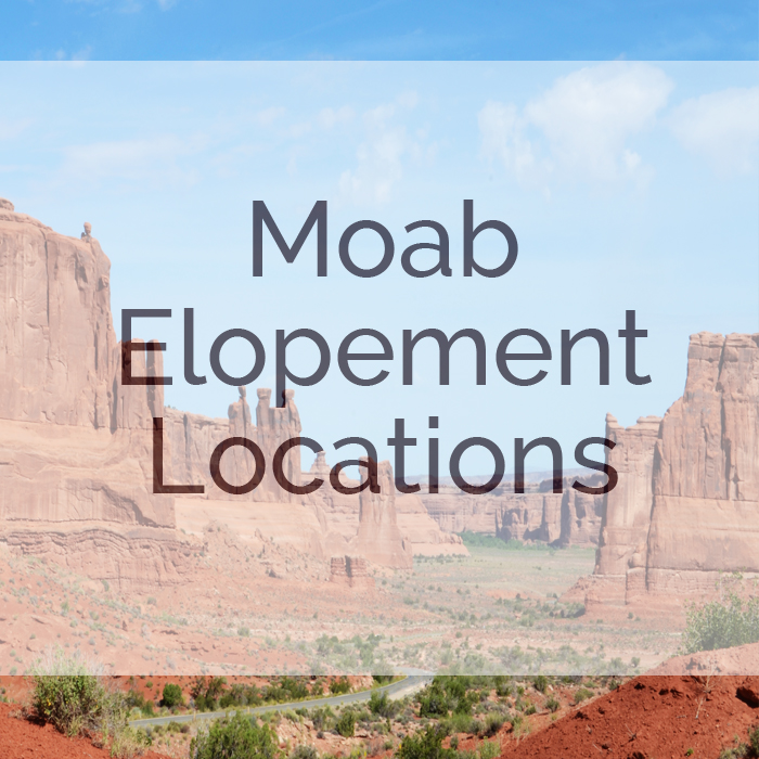 Moab Elopement Locations by Rayna McGinnis