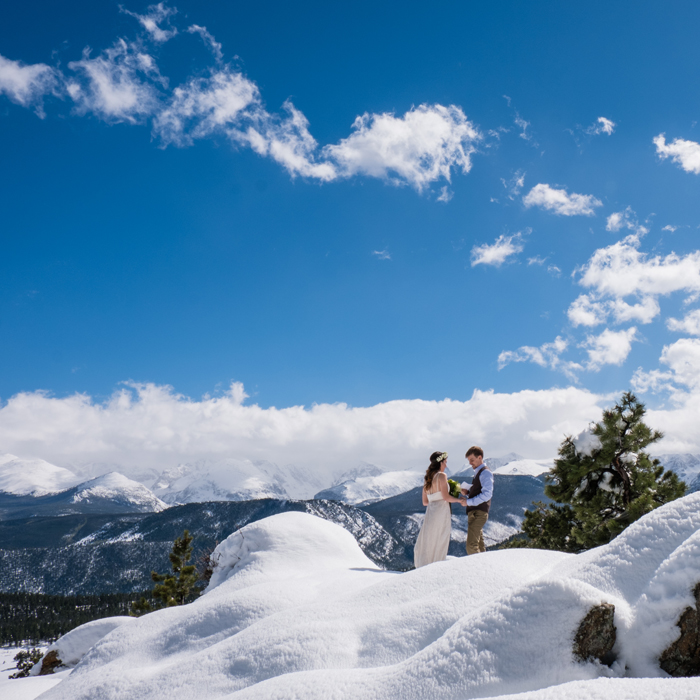 Destination Mountain Elopement at 3M Curve in Rocky Mountain National Park