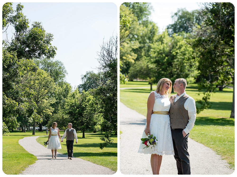 City Park Pavilion Wedding by Rayna McGinnis Photography