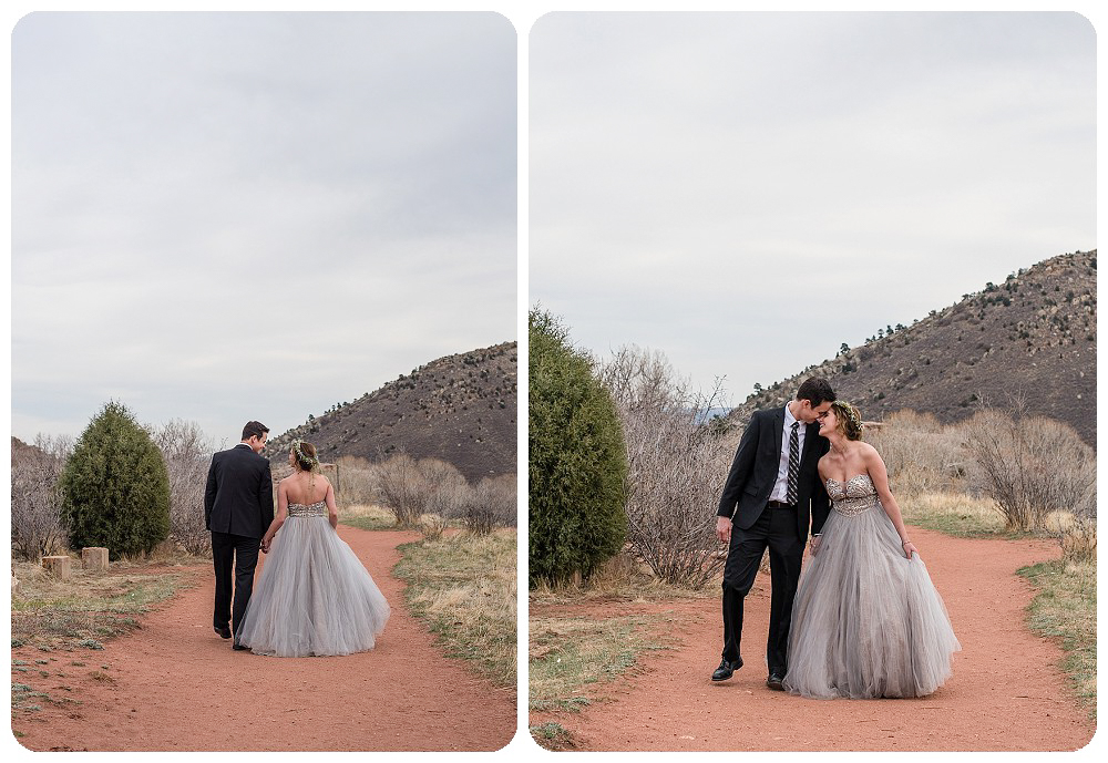 Colorado Desert Elopement