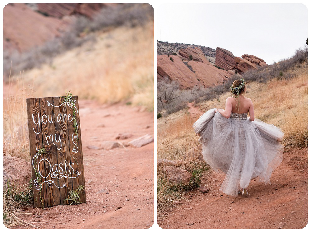 Colorado Desert Elopement Photography