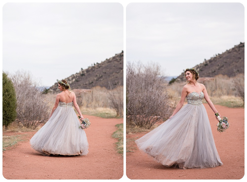 Colorado Desert Elopement Photography by Rayna McGinnis