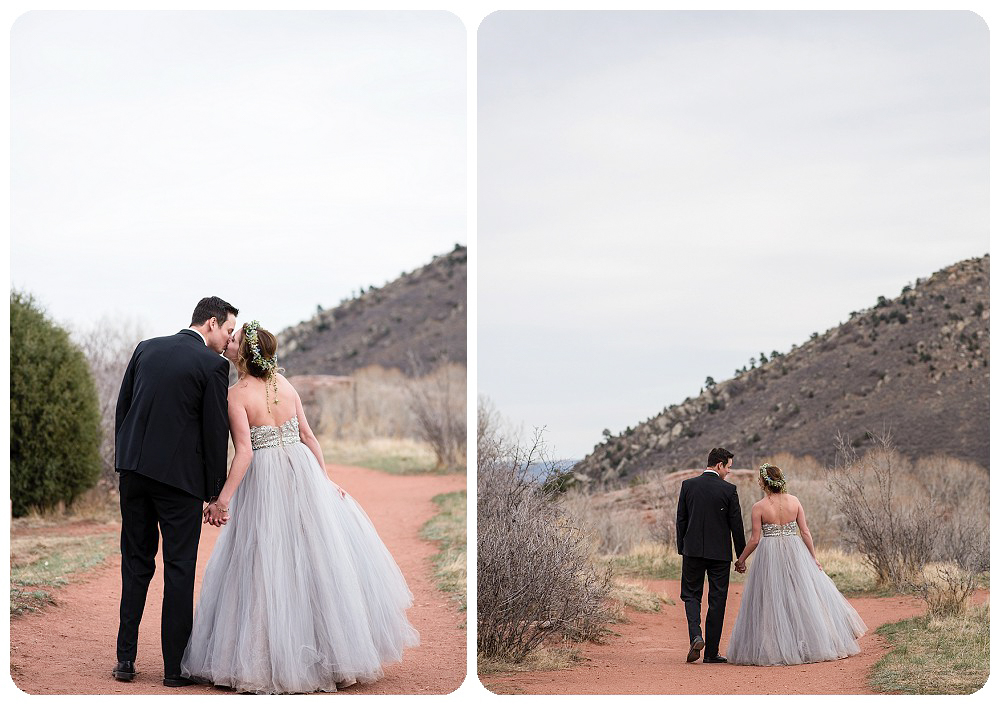 Colorado Desert Elopement at Red Rocks