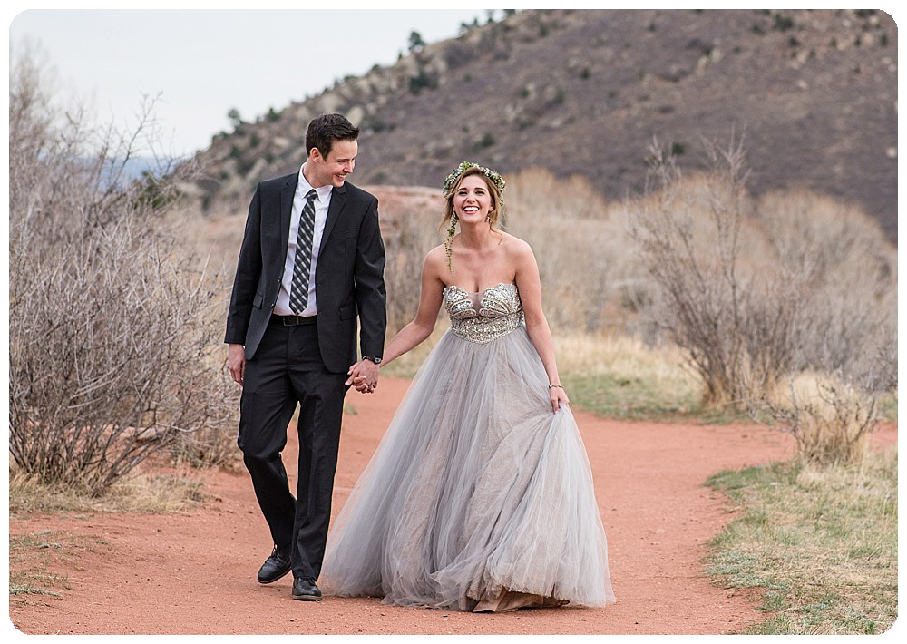 Colorado Desert Elopement at Red Rocks by Rayna McGinnis