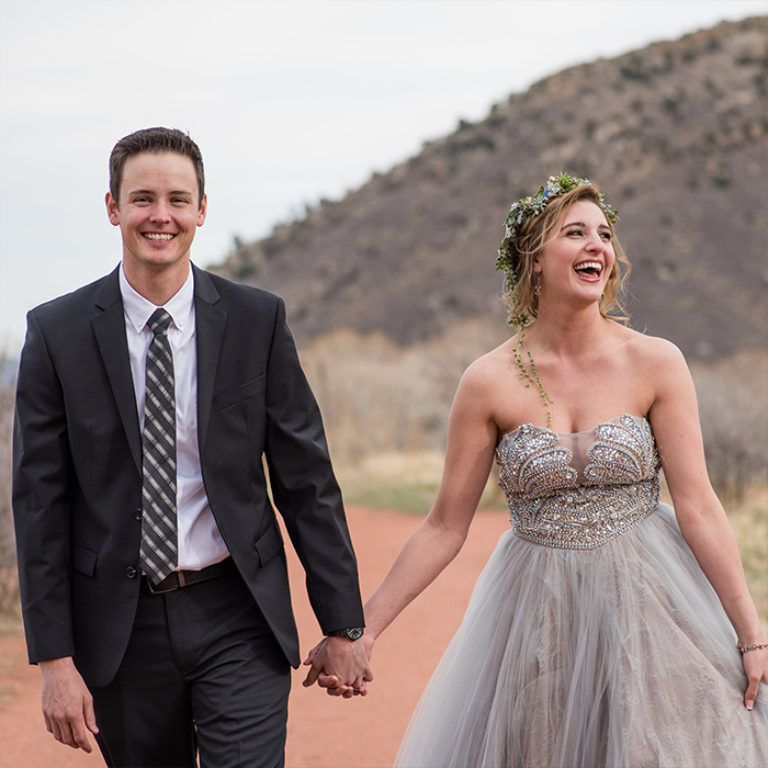 colorado desert elopement by rayna mcginnis