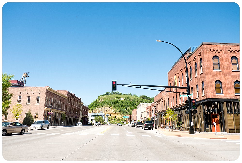 The town of Red Wing, MN