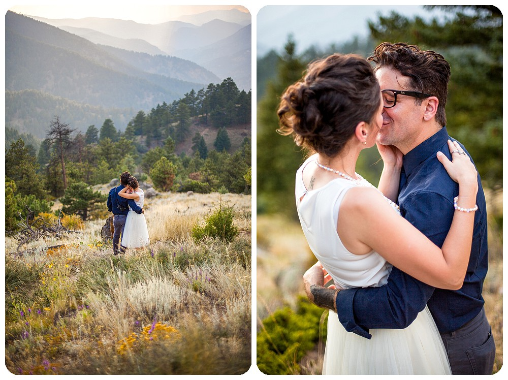 Colorado Mountain Elopement by Rayna McGinnis Photography