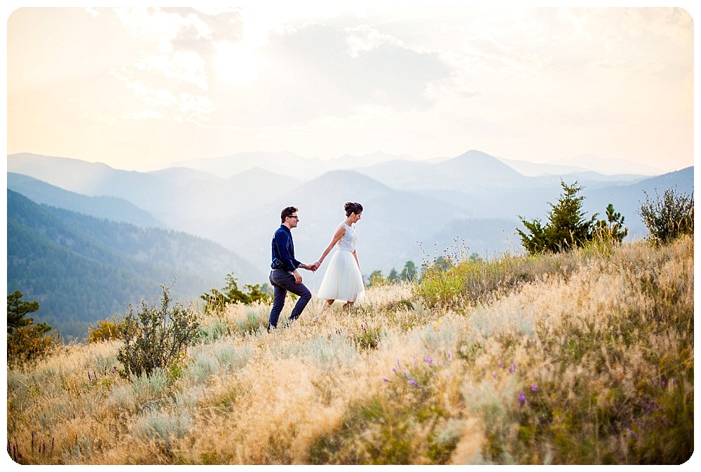 Colorado Mountain Elopement by Associate Photographer, Micah