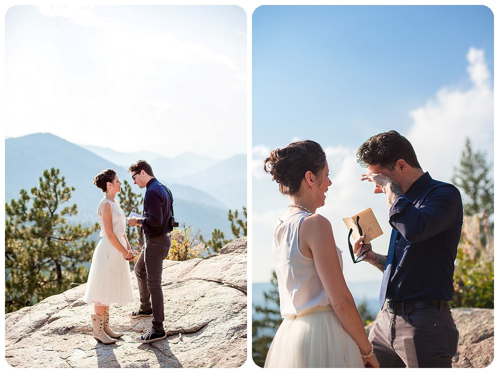 Colorado Mountain Elopement