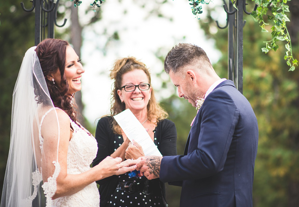 elopement ceremony by kate
