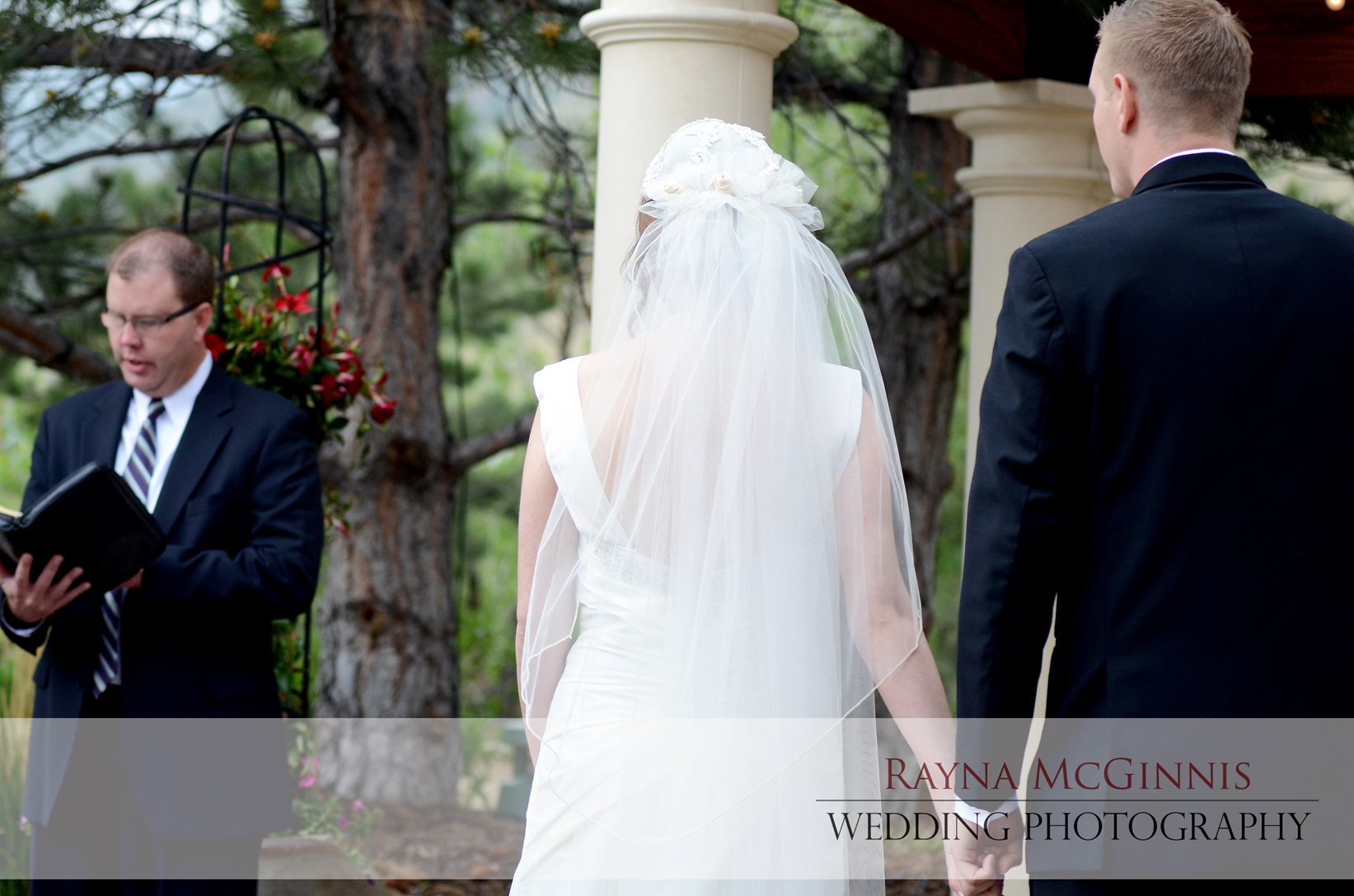 Wedding Ceremony at the Briarwood Inn