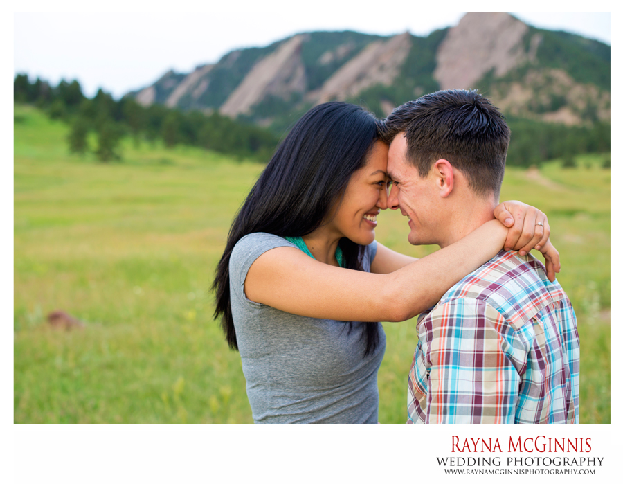 Boulder Engagement Pictures at Chautauqua Park