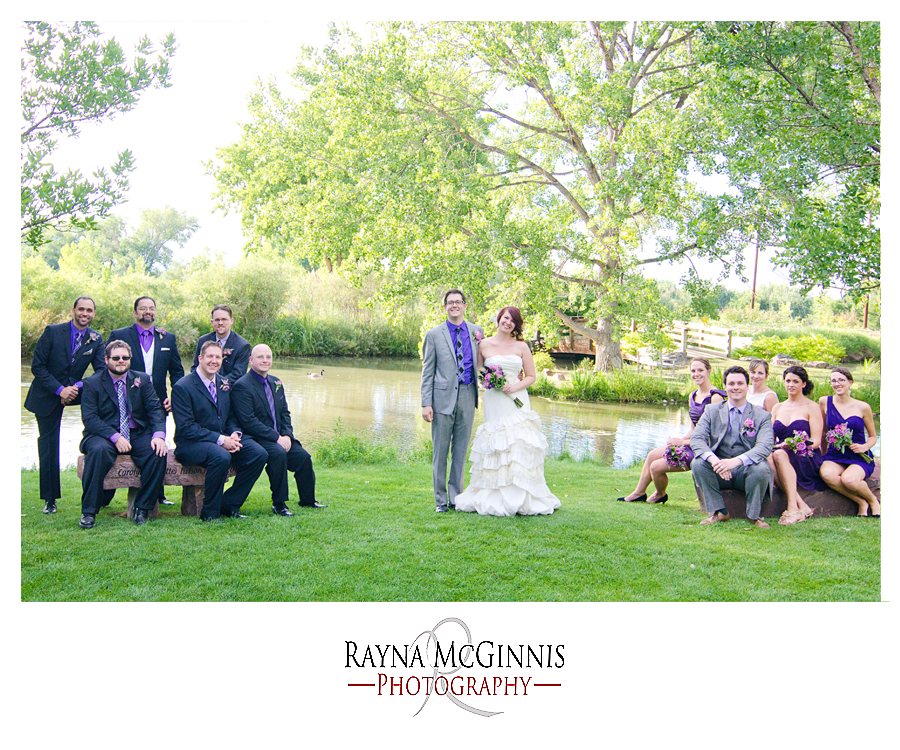 Wedding at Hudson Gardens by Rayna McGinnis