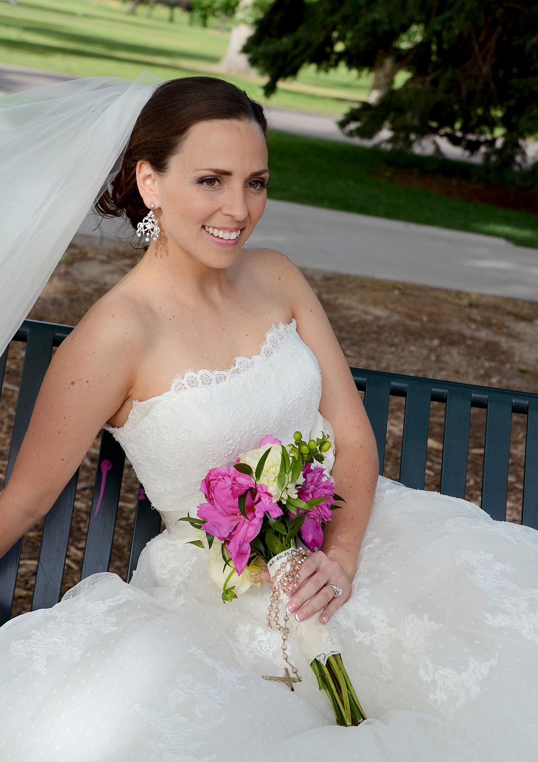 Bridal Portraits at City Park