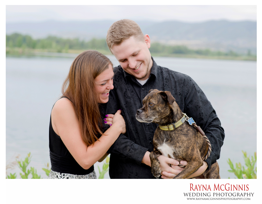 Chatfield State Park Engagement Session with Dog