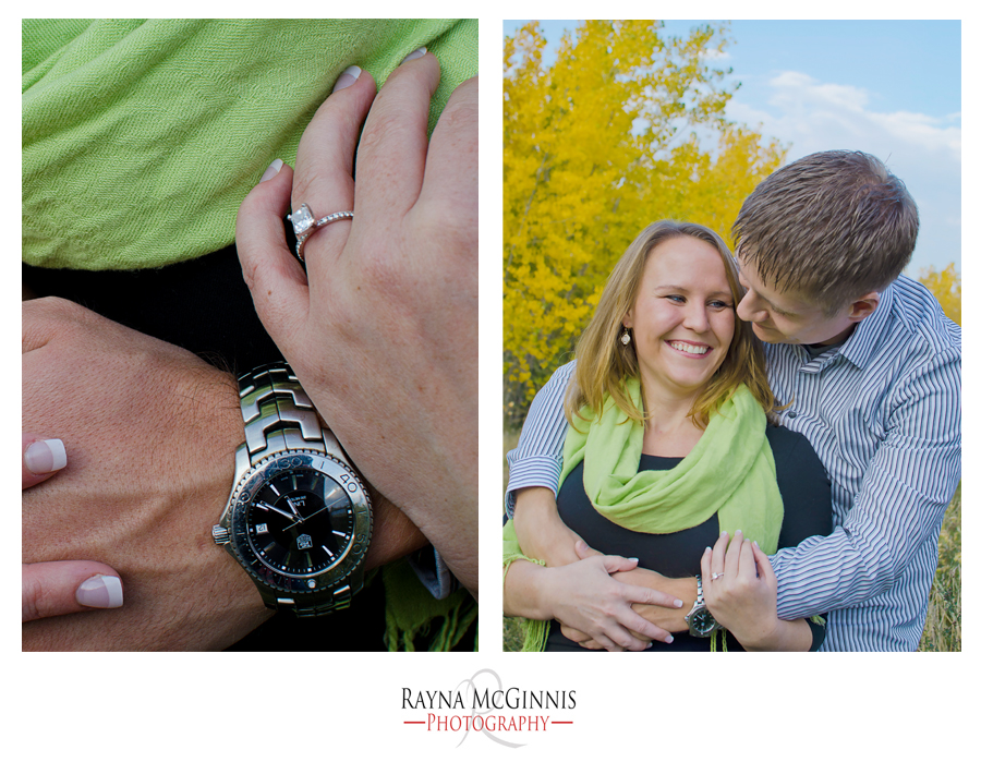 Golden Engagement Photography Session at the Clear Creek Trail