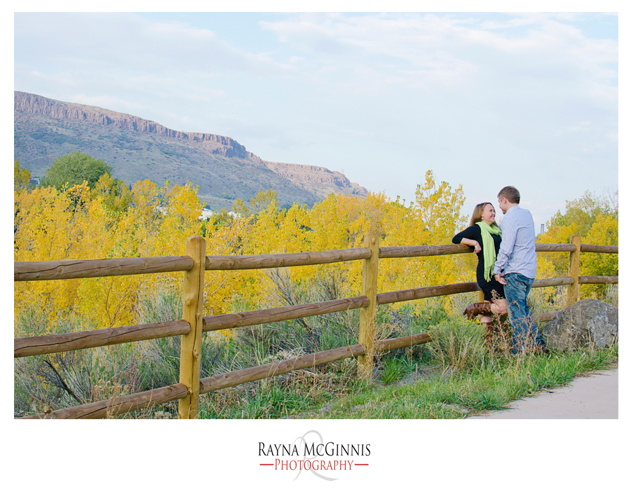 Golden Engagement Photography at the Clear Creek Trail