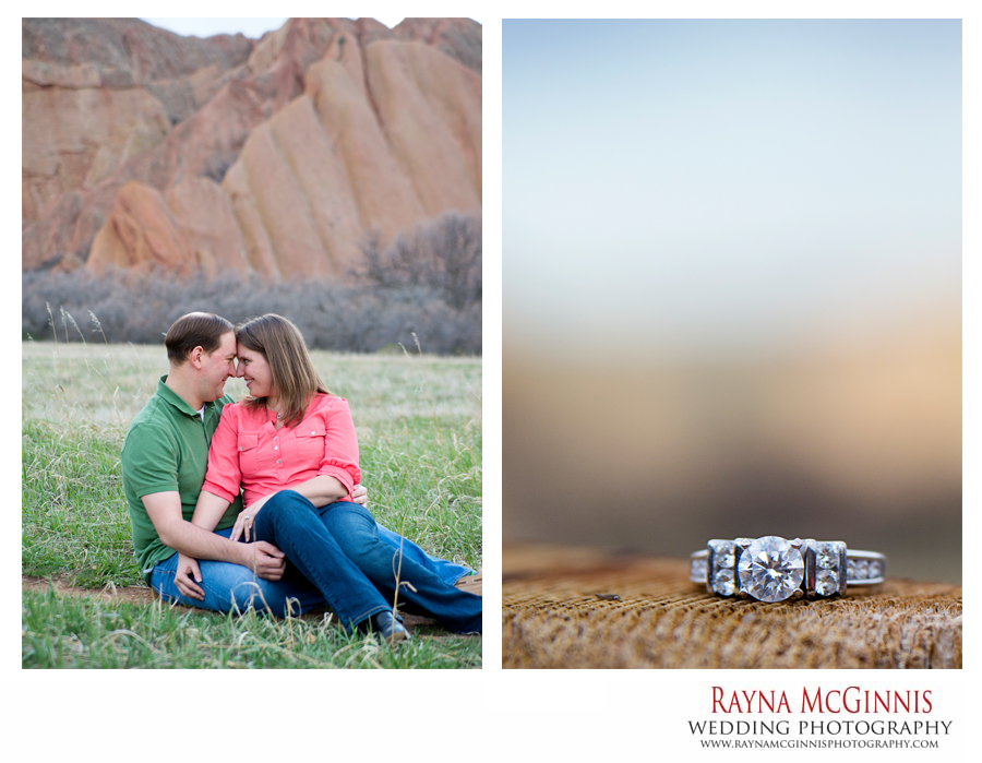 Denver Engagement Photography at Roxborough