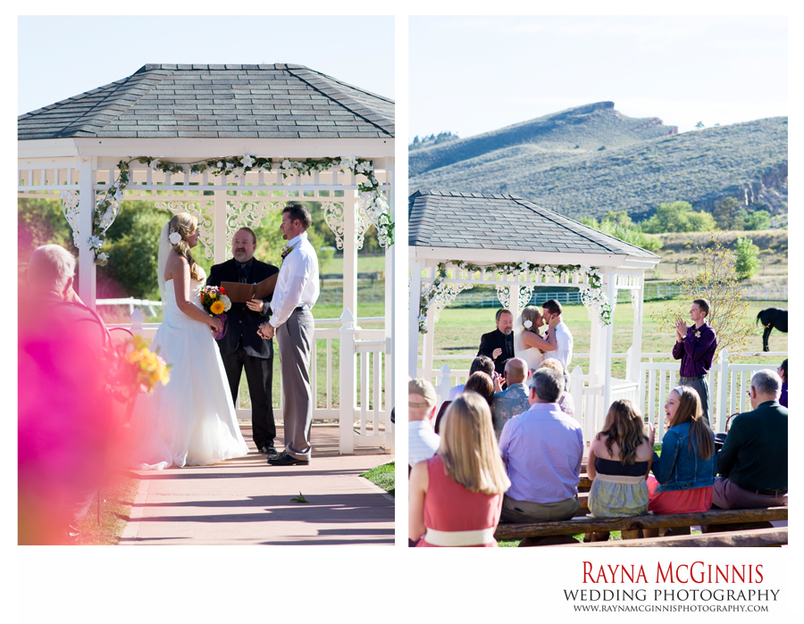 Wedding Ceremony at Ellis Ranch Event Center