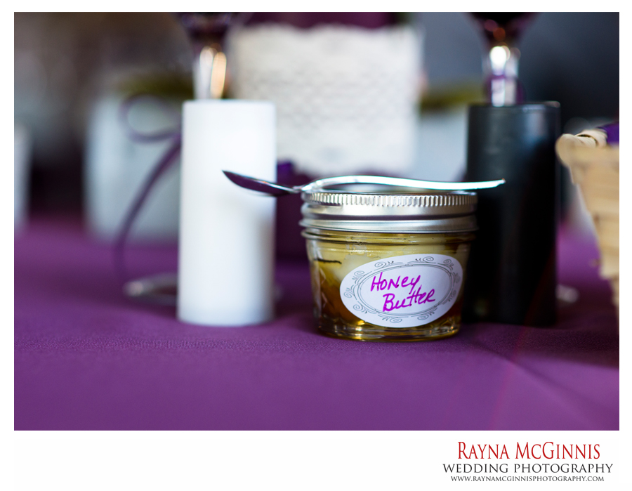 Ellis Ranch Wedding favors, honey butter