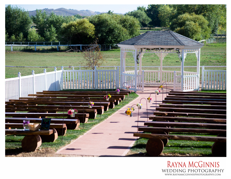 Ceremony Location at Ellis Ranch