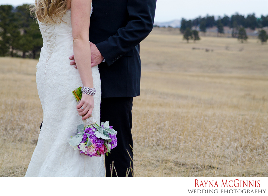 Evergreen Wedding Photography at Elk Meadow Open Space in Colorado