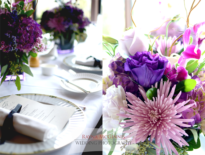 Tablescape at Flagstaff House Restaurant Wedding