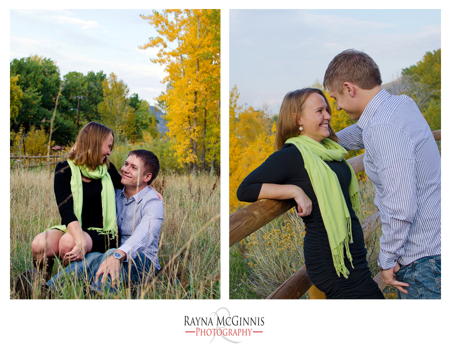 Golden Engagement Photography Session at the Clear Creek Trail by Rayna McGinnis